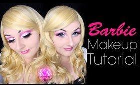 Barbie Halloween Makeup Tutorial - 31 Days of Halloween