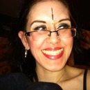 belly dance makeup and bindi design