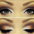 #cat eye #pretty #eyeshadow