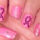 Kpoppin' Nails: Breast Cancer Awareness Nail Tutorial