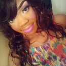 Spring Look For My Tips On Colored Lashes Post 4