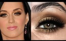 KATY PERRY GOLD HOLIDAY MAKEUP LOOK (COLLAB WITH LINDASTEPHANIE)