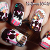 Cupcake Ice-Cream Melted Chocolate 3D Nail Art