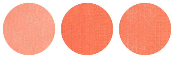 HOW TO PICK BLUSHES AND BRONZERS: Peach, orange and coral