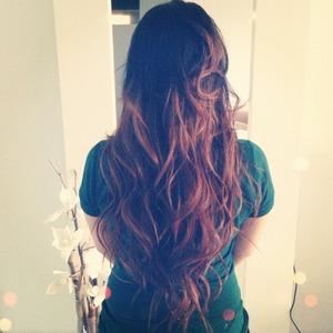 My long summer hair, ombre
