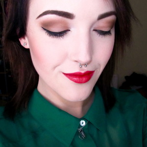 """""""Get ready with me"""" video featuring this look http://www.youtube.com/watch?v=QeA1n3cVnl4"""