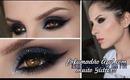 Make Azul com Glitter Especial para o Niver do Blog Frescuras de Mulherzinha