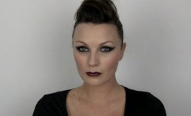Rock chic make-up tutorial