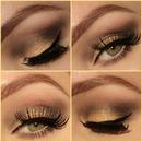 Glamorous Gold Look