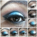 Exotic Blue Eye Makeup