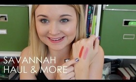 Savannah Haul & More: Makeup, Clothes, & More!