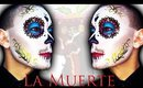 La Muerte / La Catrina Mexicana - Sugar Skull Makeup Tutorial for Halloween