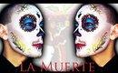 La Muerte / La Catrina Mexicana - Sugar Skull Makeup Tutorial for Halloween