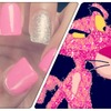 Pink Panther Inspired Nails