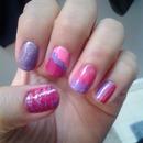 pink&purple mix match