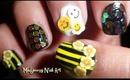 Bee Inspired Nail Art!