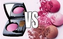 CHANEL BLUSHER VS BOURJOIS BLUSHER!!!!
