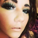 Teal Glitter (with lashes)