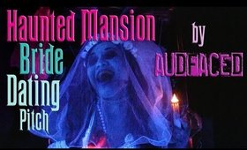 Haunted Mansion Bride Dating Pitch | Makeup Tutorial Teaser | AUDFACED