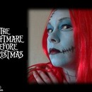 Sally From Nightmare Before Christmas Make Up Tutorial