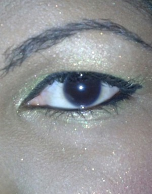 this make up is inspired by MAD SIN to walk the night shirt. not listed on beautylish: jet black gel eyeliner by nyx
