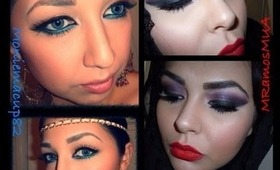 Arabian Inspired Makeup Look - Collaboration with Moniemacup82