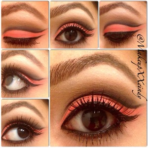 Follow me on Instagram : makeupxxcindy  Beautiful cut crease eye look using my favorite eyeshadows from BH Cosmetics applied with any of your favorite falsies ! (: