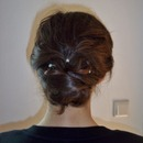 Loose Hair Knot From Behind ^^