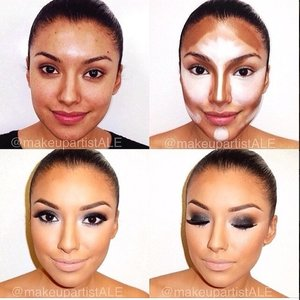 A How-To Contouring Face Photo by: allaboutmakeup
