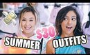 $30 Outfit Challenge ft. LaurDIY