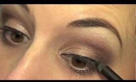 Simple Smokey Eye using Urban Decay Naked 2 Palette!