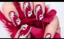 Silvester-Feuerwerk Nail Art Tutorial - new year firework
