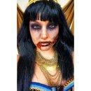 Zombie cleopatra Halloween