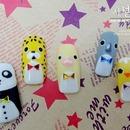Korean Animal nail art