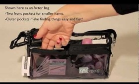 The 'Essential' bag for Cosmetics Hair goods Travel and Set