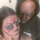 Sugar skull and Demon