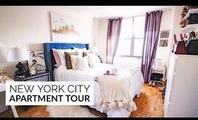 NEW YORK CITY APARTMENT TOUR | Bedroom & Bathroom