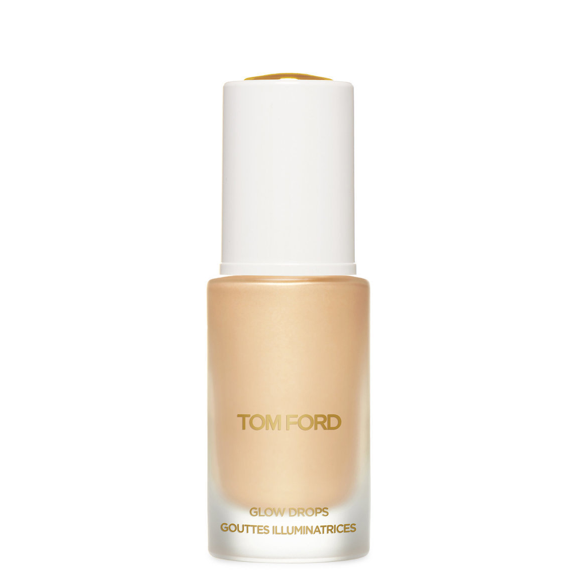 TOM FORD Soleil Neige Glow Drops 03 Reflects Gilt product swatch.