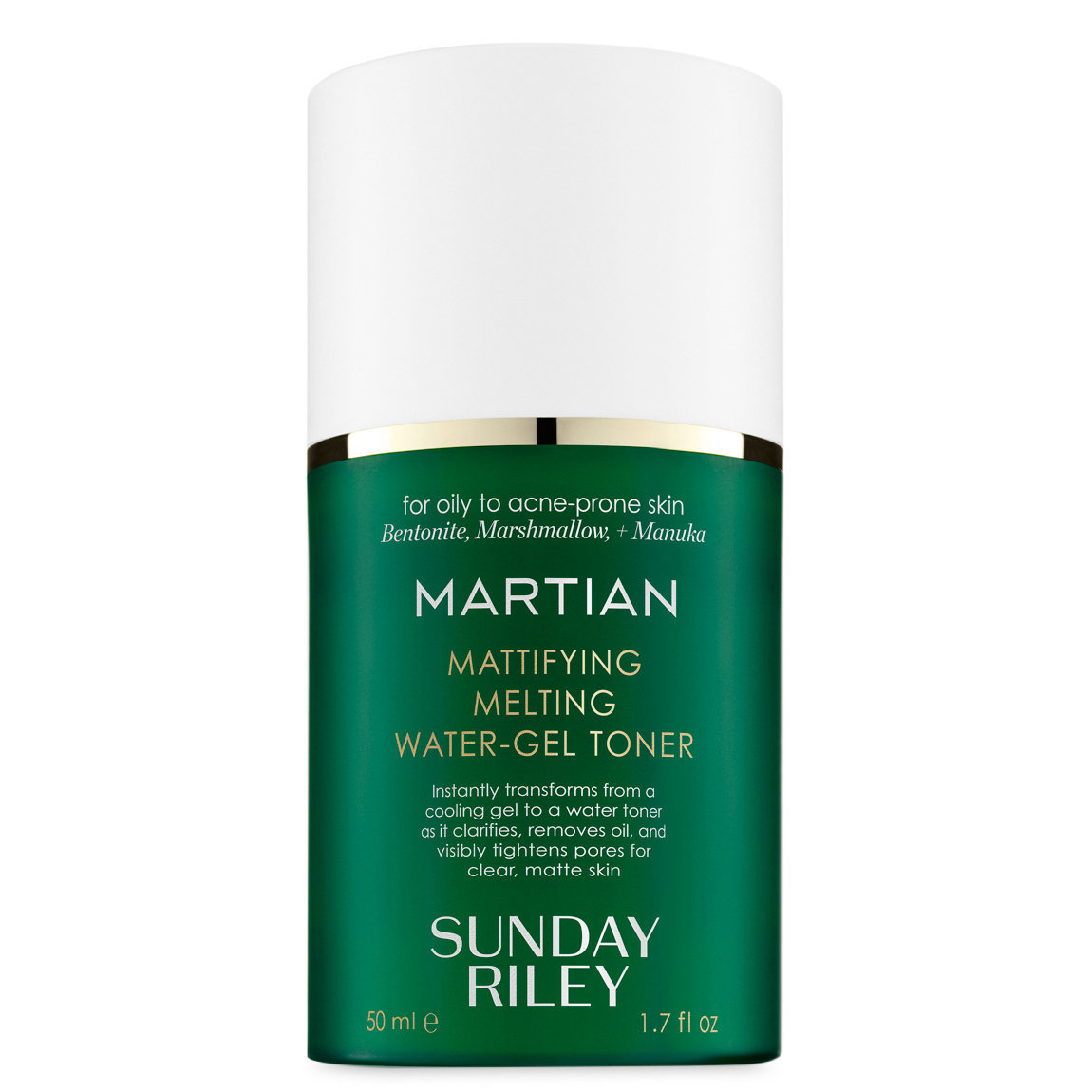 Sunday Riley Martian Mattifying Melting Water-Gel Toner 50 ml alternative view 1 - product swatch.