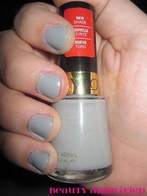 Revlon Nail Polish in Silver
