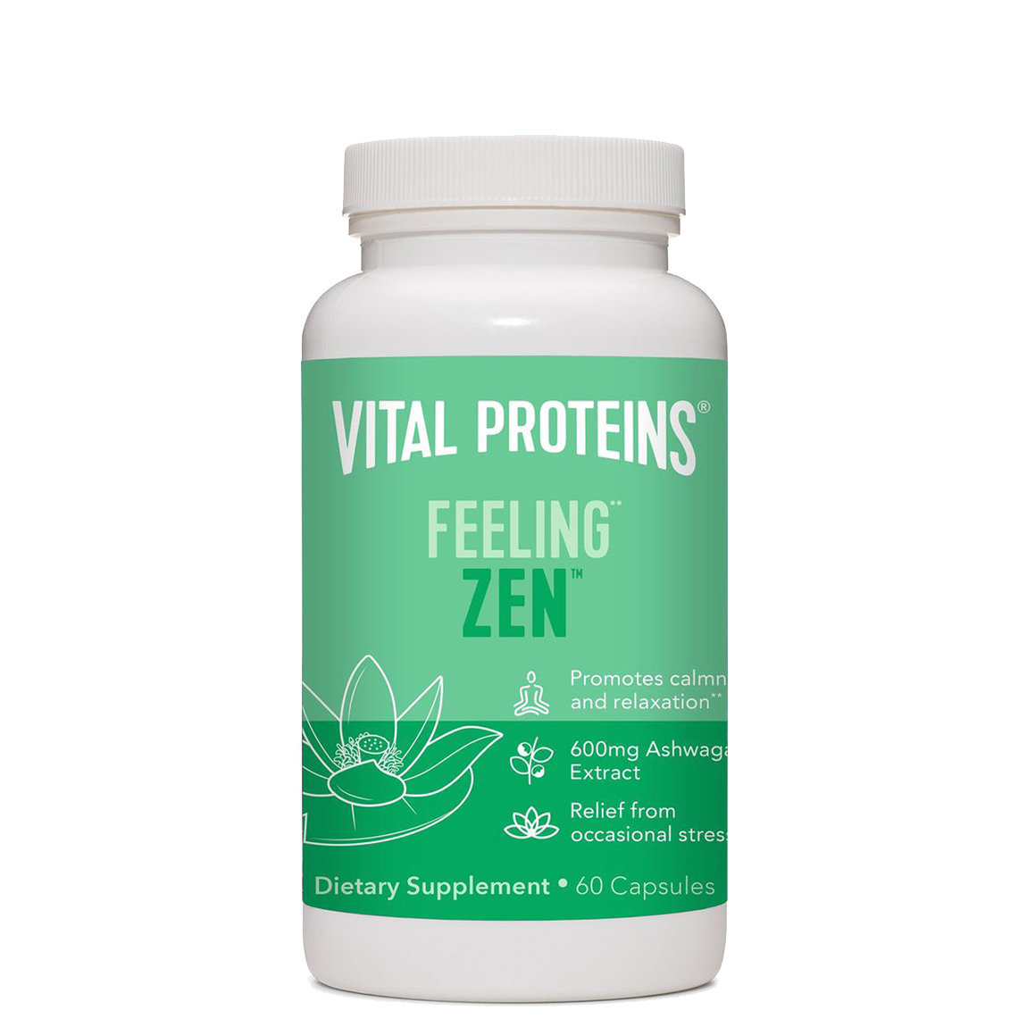 Vital Proteins Feeling Zen Capsules alternative view 1 - product swatch.