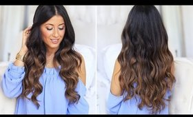 Mimi Ikonn's Go-To Hair Waves | How To Curl Your Hair Tutorial | Luxy Hair