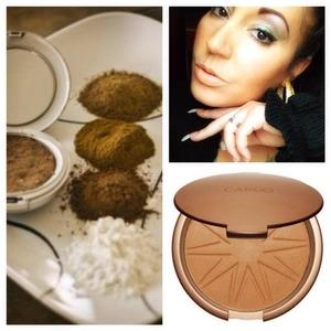 Cinnamon n baby powder add together n you can make a beautiful bronzer for those cheek bone
