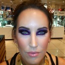 purple glitter!!