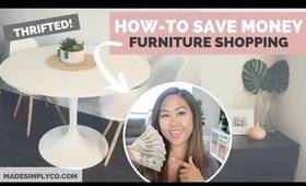 How-To Shop Second Hand Furniture | Furnishing Your Home for Less