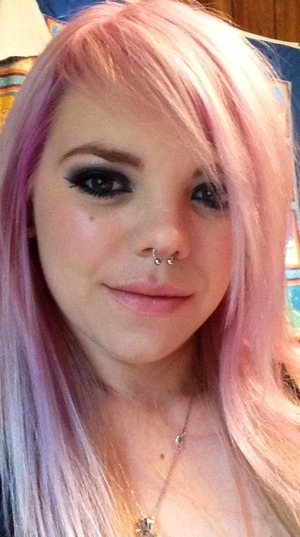 La la lavender hair ^.^