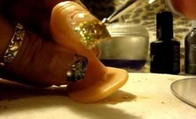 Cheetah Print Nail Art By Tru Glitz and Glam