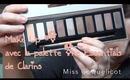 Make Up avec la palette The Essentials de Clarins/MissCoquelicot