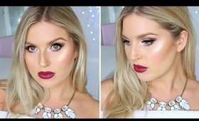 Sultry Makeup For The Holidays! ♡ Winter Frosty Makeup Tutorial