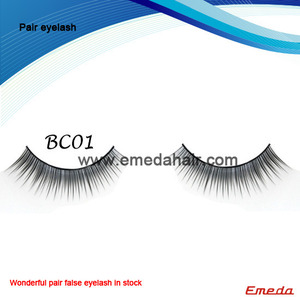 Professional 5 Pairs Makeup Fashion Long false eyelashes wholesale. http://www.emedahair.com